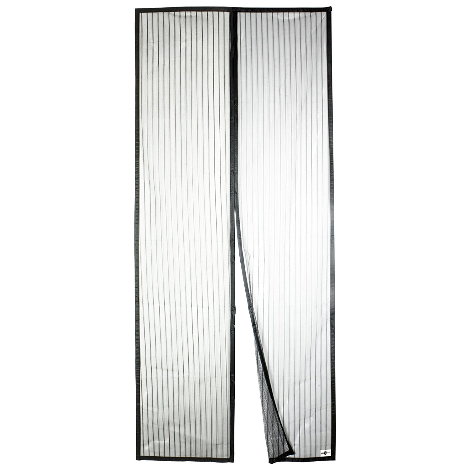Apalus Magnetic Screen Door Keep Fresh Air in /& Bugs Out 92x202CM, Black Suitable for Home Campers RV Super Fine Mesh Fly Curtain 26 Magnets from Top-to-Bottom Seal Snaps Shuts Automatically